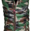 GILET DOUDOUNE FEMME FORESTIER REPLY LADY. 100% NYLON. TS A XL - CAMOUFLAGE
