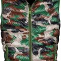 GILET DOUDOUNE HOMME FORESTIER REPLY. 100% NYLON. TS A 3XL - CAMOUFLAGE