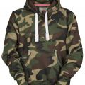 SWEAT CAPUCHE FEMME FORESTIER ATLANTA LADY. COTON/POLYESTER. TS A L - CAMOUFLAGE